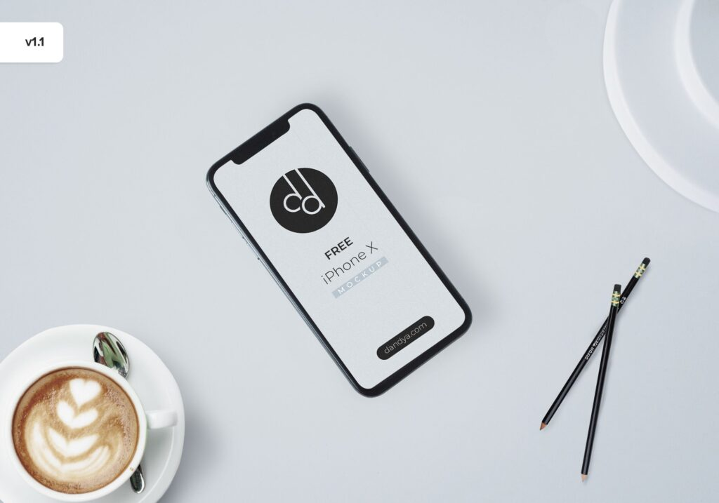 iPhone X Mockup Freebie!