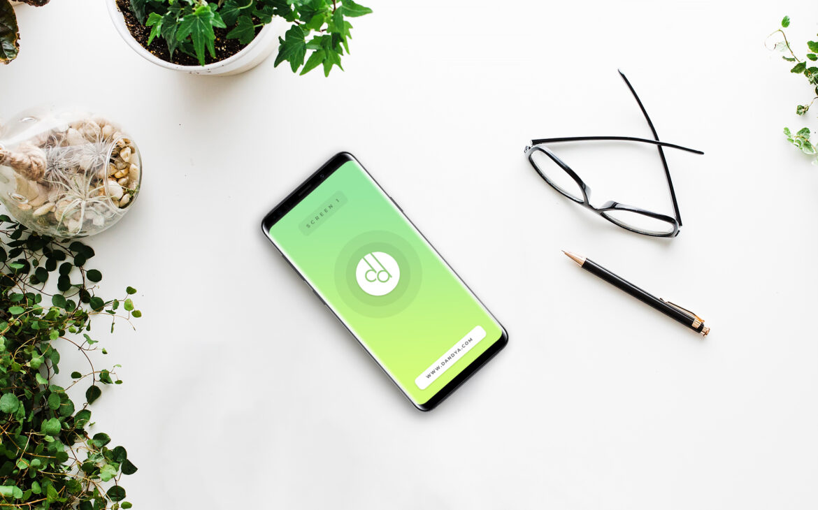 Samsung Galaxy S9 Plus Animated Mockup