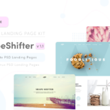 Shapeshifter PSD Landing Page Collection